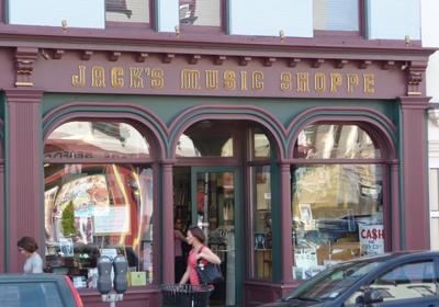 Jack's Music Shoppe, Red Bank, NJ