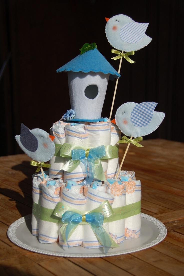 torta di pannolini diaper cake