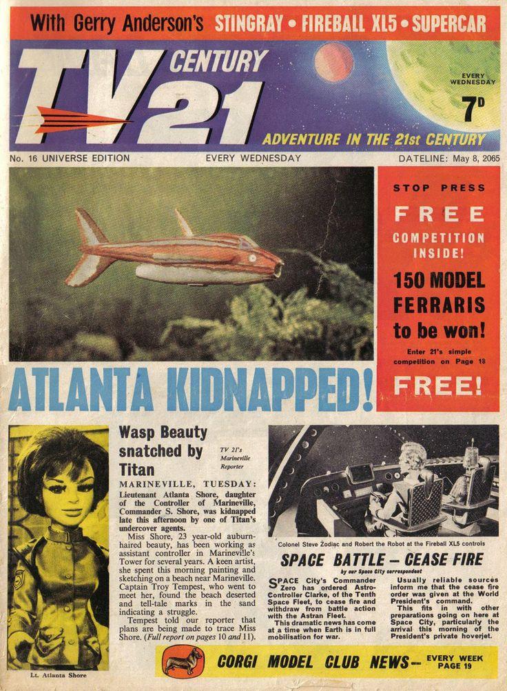 TV Century 21 issue number 16