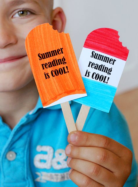 popsicle bookmark printable