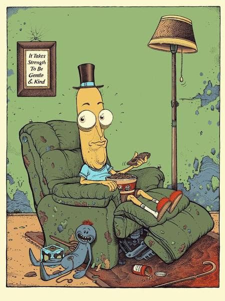 'Mr Poopybutthole' by Florian Bertmer