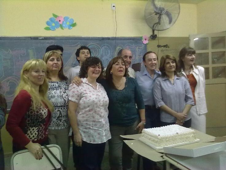 docentes festejando dia del profe