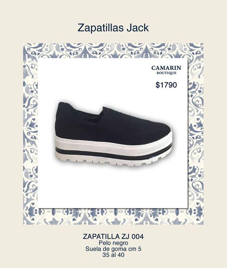 #Zapatillas Jack #pelo #negro Suela de goma 5cm https://www.facebook.com/media/set/?set=a.768323559857766.1073741948.149353421754786&type=3