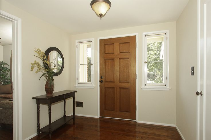 Tan Foyer Colors : Walls are barely beige benjamin moore we have this in