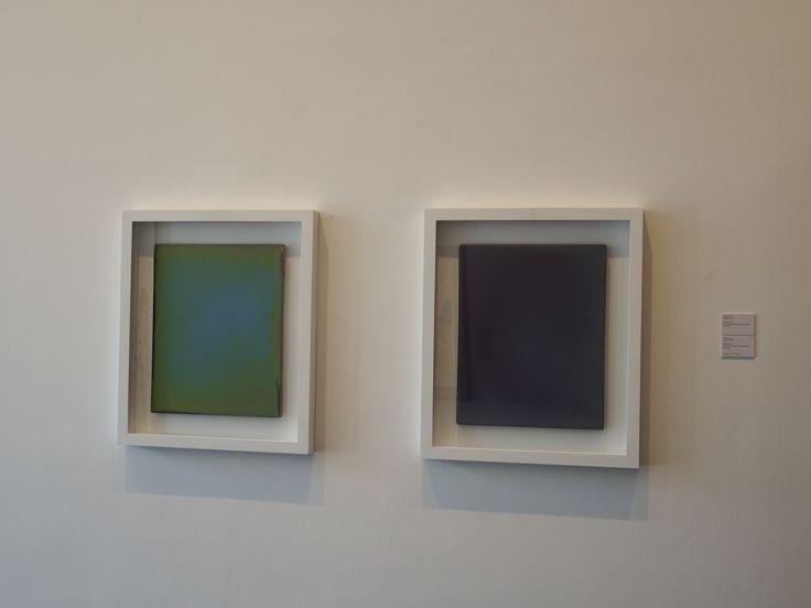 Markus Amm, (Stuttgart, 1969), Untitled, 2013, Olio su tavola gessata / Öl auf Gipstafel, 50 x 40 cm