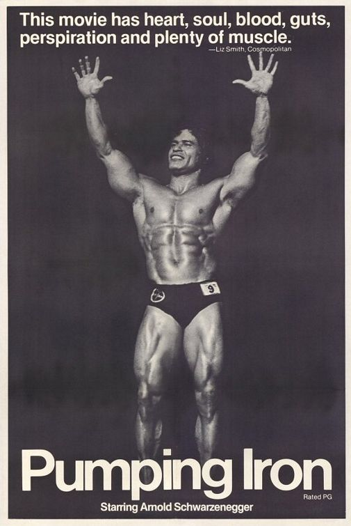 "Pumping Iron - Great documentary and Arnold is a bit hard on ""Big Loouiee!"""