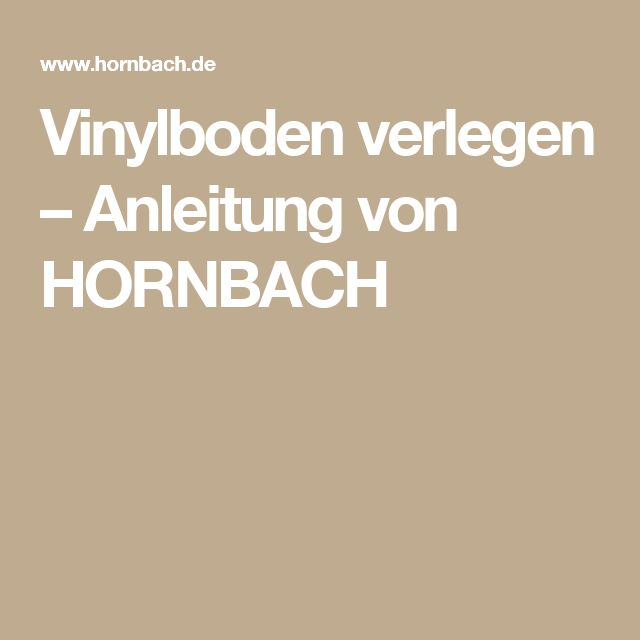 Sehr Gut Die besten 25+ Vinylboden verlegen Ideen auf Pinterest | Parkett  KB69