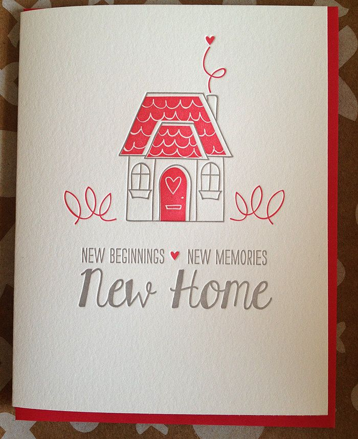 Housewarming Quotes For Cards New home card - housewarming