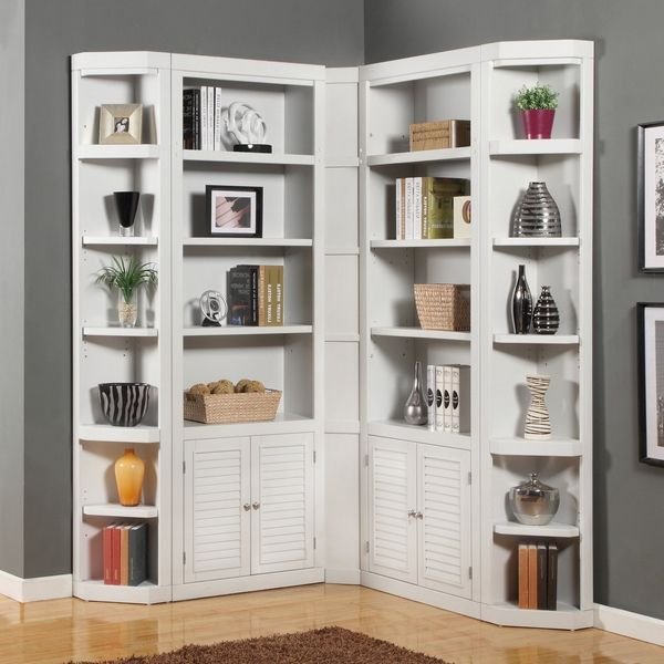 Best 25+ White Corner Bookcase Ideas On Pinterest
