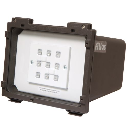 7 best led outdoor flood lights images on pinterest led outdoor fixture flood led lumens the altas is equivalent to a metal halide lamp the color temperature on this led fixture is ul approved hour useful life aloadofball Image collections
