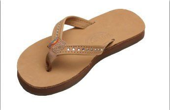 Rainbow Sandals Kid's Crystal Leather Sandals - Available in All Sizes and Colors Rainbow Sandals. $43.95