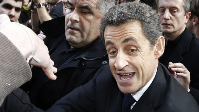 BBC News - France election: Sarkozy hides in bar amid protestBbc News, France Election, S'Mores Bar, S'More Bar, Amid Protest, Funny Stuff, Sarkozy Hiding, Bar Amid