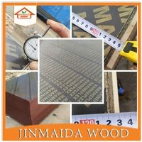 15mm wbp glue black film faced shuttering plywood marine plywood