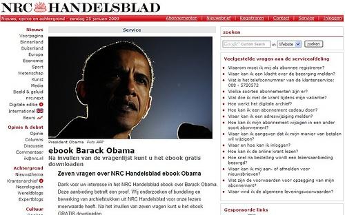eBook Barack Obama (NRC)    Pin, Repin