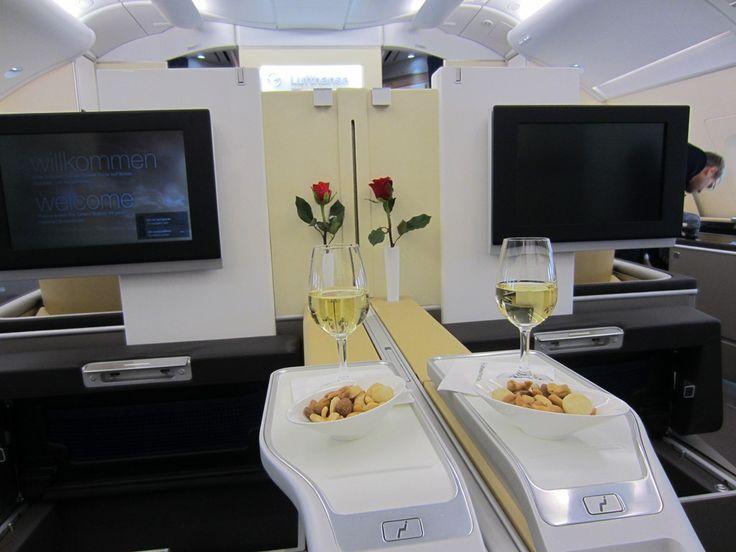 lufthansa airbus a380 800 first class first class commercial interiors pinterest first class. Black Bedroom Furniture Sets. Home Design Ideas