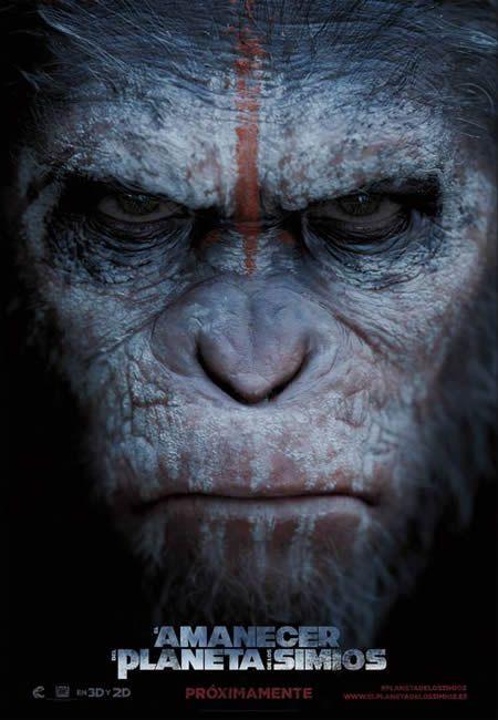 Póster de El Amanecer del Planeta de los Simios (Dawn of the Planet of the Apes)