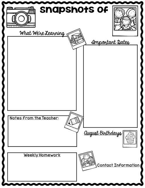 Best 25+ School newsletter template ideas on Pinterest
