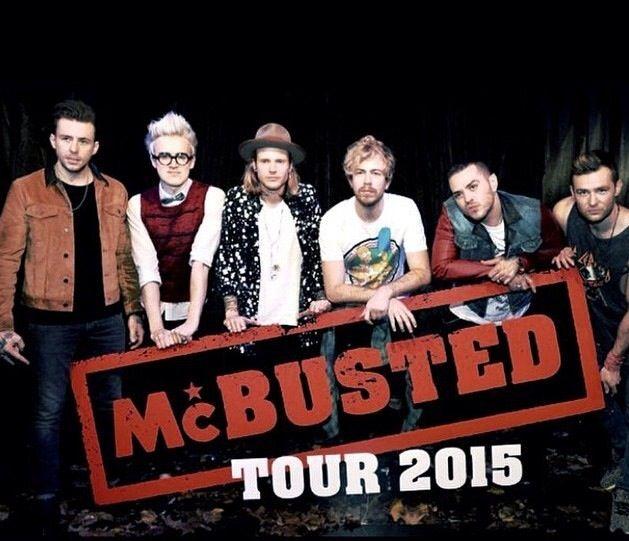 McBusted tour promo 2015