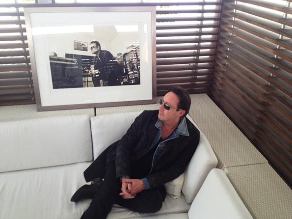 Julian Lennon...Morrison Hotel Brings Rock & Roll Photos to Art Basel