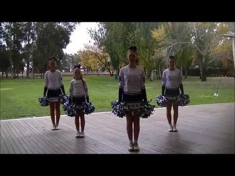 Learn a new pom pom routine - Dances for children - YouTube
