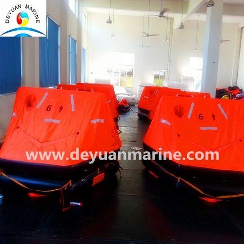 25 Man International Voyages Inflatable Liferaft
