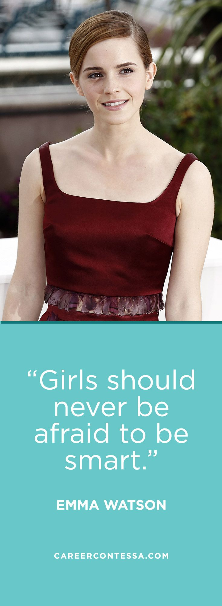 Wise words from our feminist hero Emma Watson!
