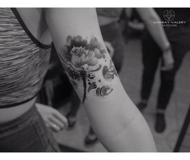 Tattoos ideas for women. #valerysharay #blackandwhite
