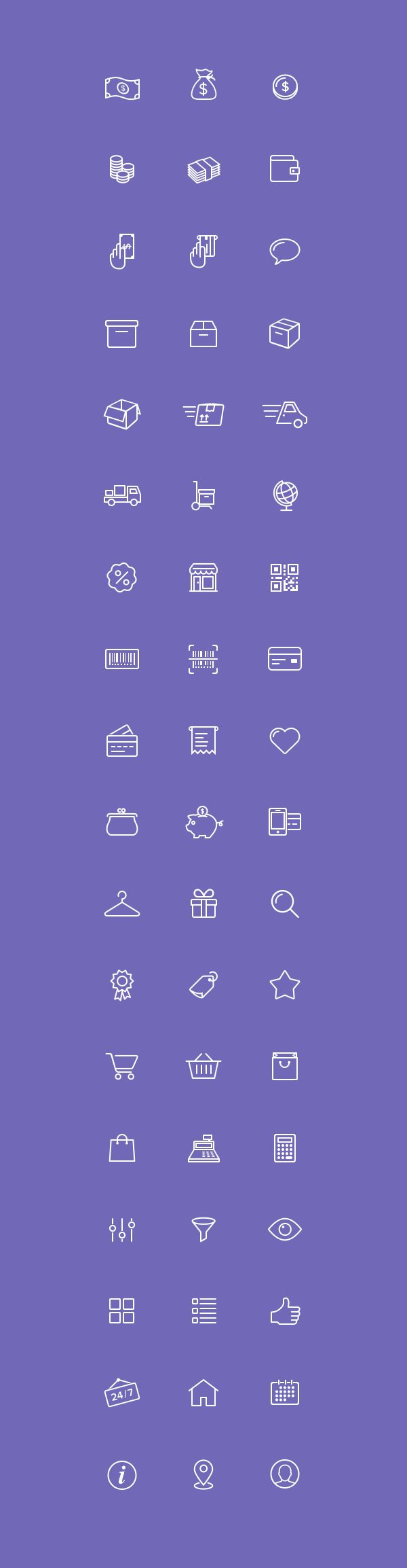 Check out this great set of e-commerce icons designed and released by Virgil Pana.This collection includes...