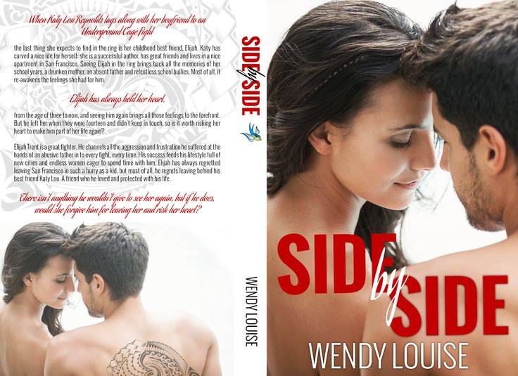 Side by Side by Wendy Louise, full wrap cover