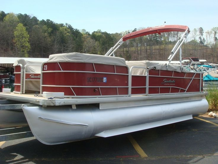 2015 Sweetwater 2286FC Pontoons for sale, Used boat for