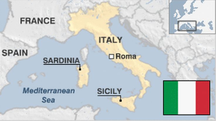 Provides an overview of Italy, including key events and facts about this European country
