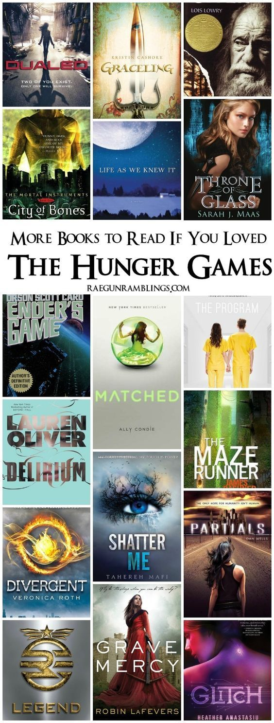 If you loved the Hunger Games read these books too!  Rae Gun Ramblings: