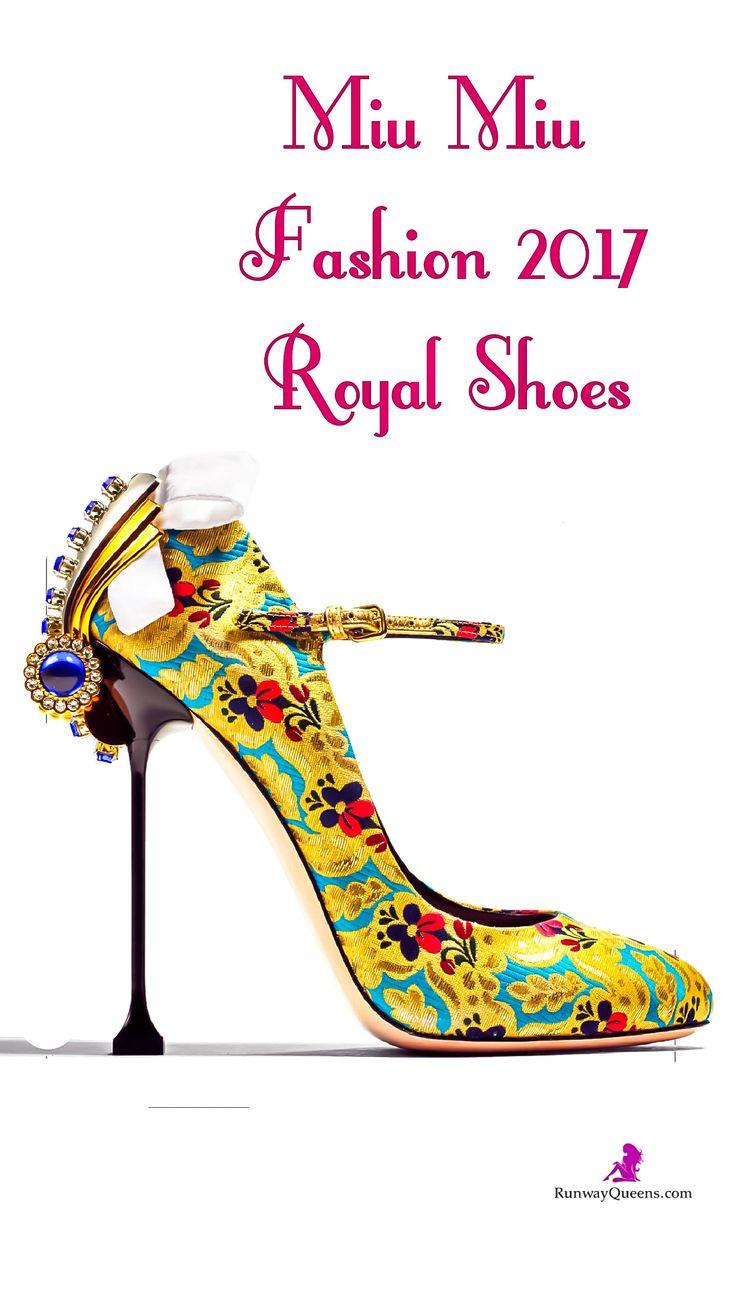 Miu Miu, Fashion 2017, Royal shoes
