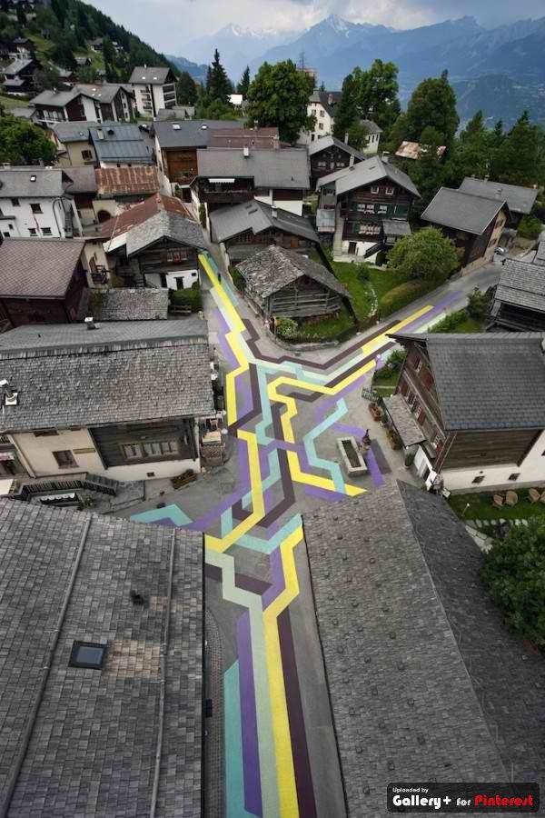 """Actual"" street art :)"