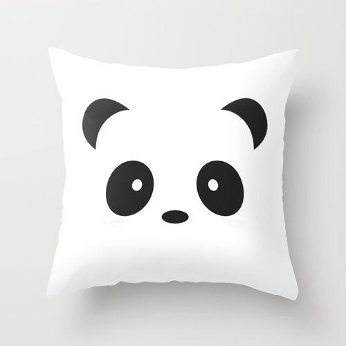 Panda Paul Throw Pillow