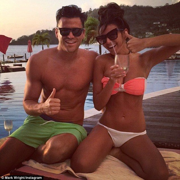 Mark Wright rings in first wedding anniversary with 'perfect' wife Michelle Keegan | Daily Mail Online