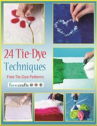 47 Tie Dye Craft Projects and How to Tie Dye | FaveCrafts.com