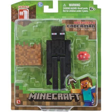 Minecraft Overworld Enderman Action Figure Accessories and Minecraft