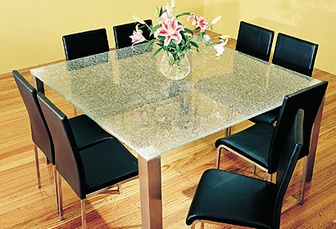 Dining table - prefer white chairs