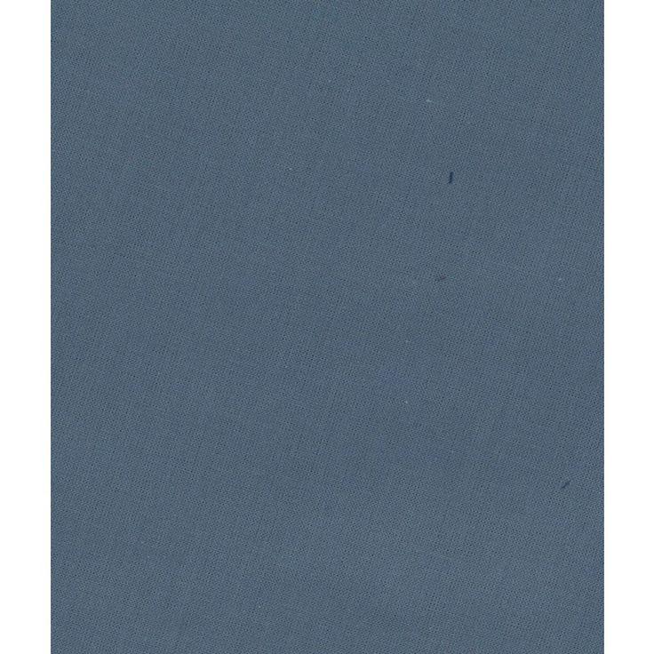 Tissu Frou-Frou uni Ardoise cendrée, 100% coton, à utiliser individuellement pour des créations couture unies, ou à associer avec les tissus des collections imprimées.