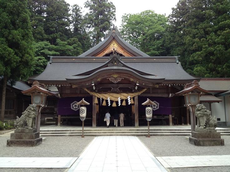 Shirayama hime Shrine