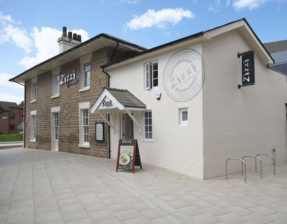 Grade II listed building | Zizzi Hereford, 2014