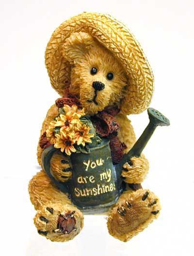 "boyds bears | Boyds Bears & Friends - Sunny] 4013457 - Sunny 3"" bearstone bear with ..."