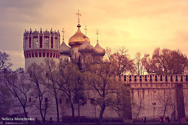 The Novodevichy Convent in Moscow. One of my favourite places in Moscow.