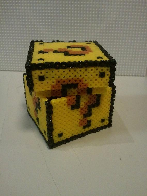 Hama Mario Question Mark Ring Box plus accessory by Retr8Bit, £12.99