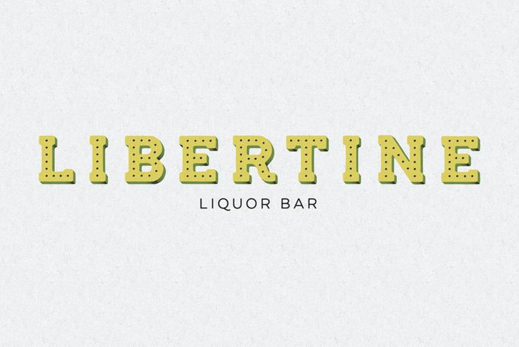 Libertine Liquor Bar by CODO
