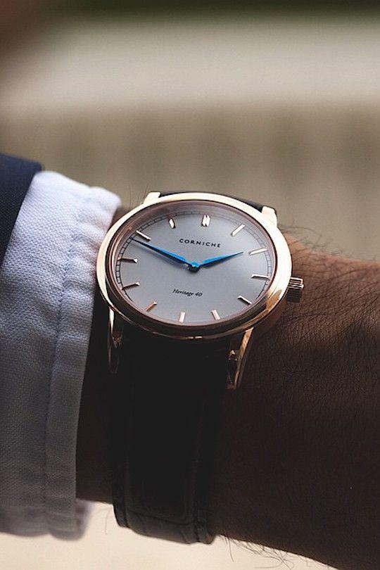 Heritage 40 by Corniche Watches LVSH