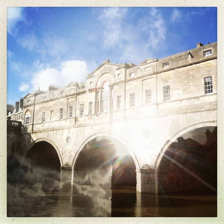 Pultney Bridge, Bath. Took this using a double exposure on a good day.