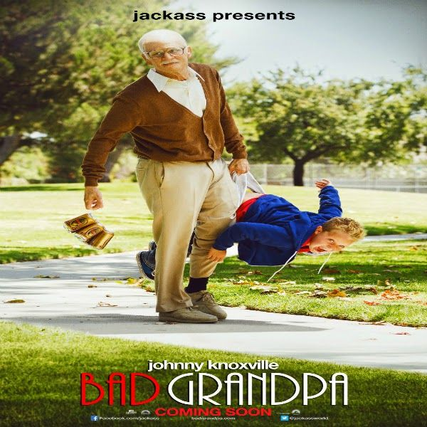 Jackass Presents: Bad Grandpa (2013). 86-year-old Irving Zisman takes a trip from Nebraska to North Carolina to take his 8 year-old grandson, Billy, back to his real father. Rated R | 92 min. | Comedy | Full HD 1080p | 1920x1080 Resolution. #Media_Blogz #movieblog4movies #Jackass #BadGrandpa