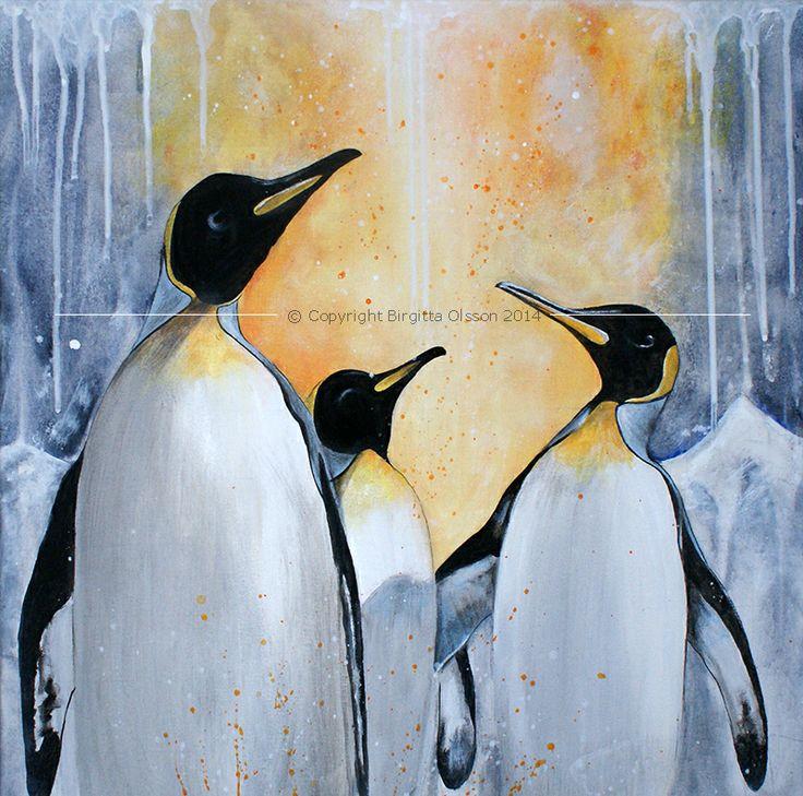 Pingviner - älskar dem